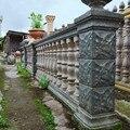 93 см/36 61in классические простые каменные текстуры Lotos литые на месте балкон и садоводство бетона римская колонна балясины соединение плесень