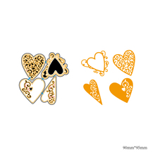 AZSG Love Souvenirs Cutting Dies For DIY Scrapbooking Decorative Card making Craft Fun Decoration 9*9.5cm azsg cute girl cutting dies for diy scrapbooking decorative card making craft fun decoration 9 8 9 2cm