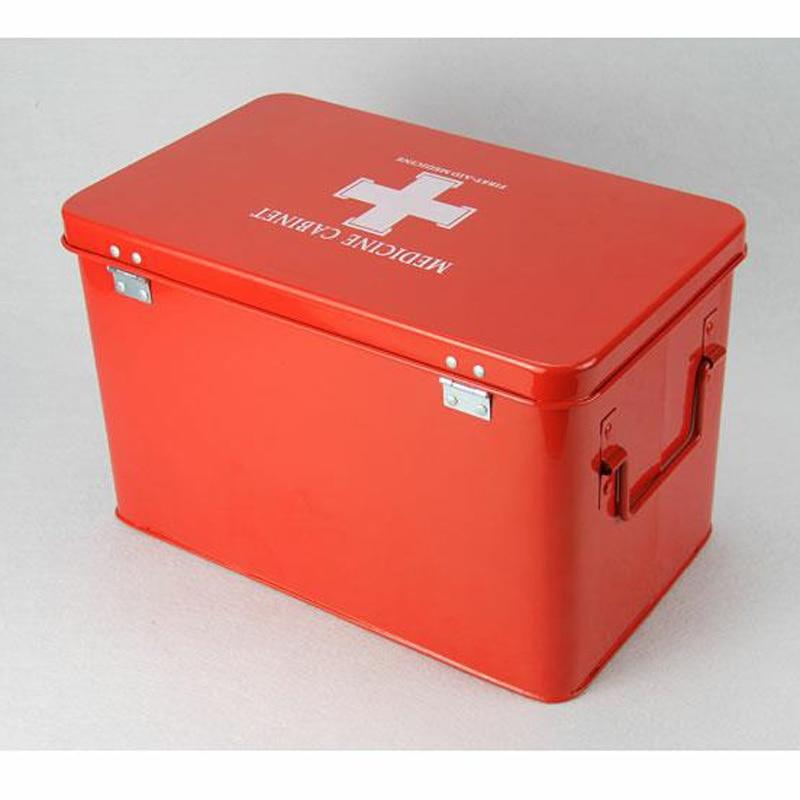 Family First Aid Kit Emergency Kit Portable Camping Survival Emergency Medical Drug Bandage Home Car Travel Storage Box DJB006