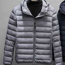 Boollili AYUSNUE Duck Down Jacket Men Autumn Winter Ultralight Down