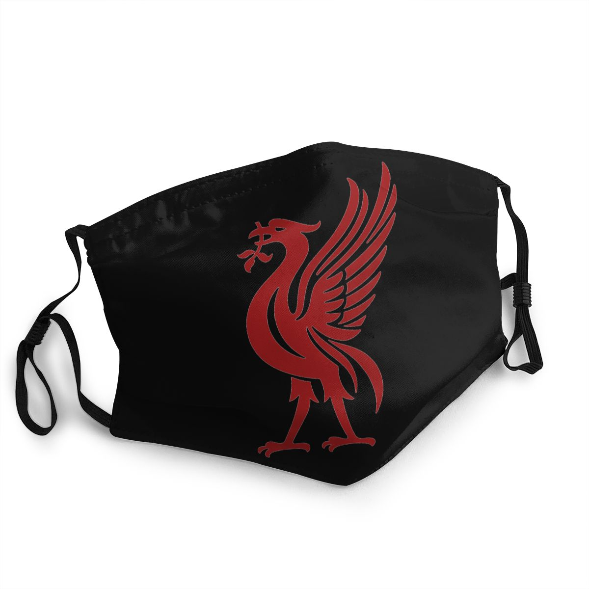Fashion Face Mask Red Birds Unisex Winter Warm Mouth Mask Anti Dust Liverpool Facial Protective