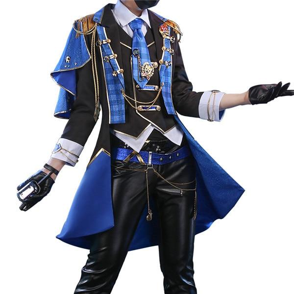 Anime HITMAN REBORN! traje de Cosplay de concierto de mukuro idol para hombre traje de halloween