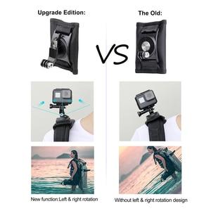 Image 3 - SOONSUN 360 Degree Rotation Adjustable Backpack Shoulder Strap Belt Mount for GoPro Hero 9 8 7 6 5 for DJI Osmo Action Accessory