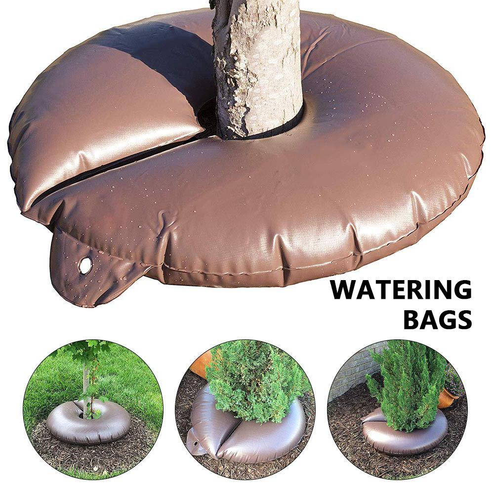 15 gallonen Baum Bewässerung Tasche Langsam Release PVC Automatische Drip Catcher System Bewässerung Tropf Tasche für Pflanzen Bäume Garten Bewässerung