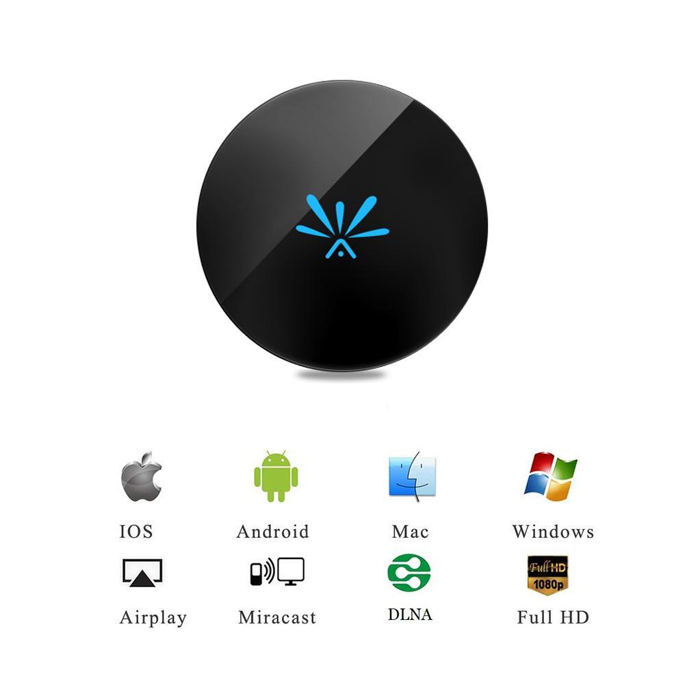 G6 TV Stick 2.4G/5G Hz vidéo WiFi affichage HD écran miroir TV sans fil Dongle récepteur pour Google Chromecast 2