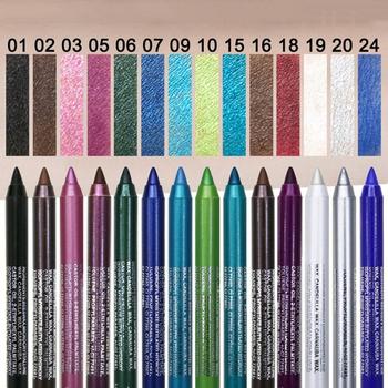 DNM kolor Eyeliner Pen perła cienie długopis wodoodporny pot nie kwitną makijaż kosmetyki długotrwały ołówek do oczu TSLM1 tanie i dobre opinie Łatwe do noszenia Długotrwała Naturalne as photo Powyżej ośmiu kolorach Chiny Luminous Shimmer Matowy radiant 12 colors (optional)