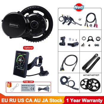 Bafang BBS02B 48V 750W Mid Drive Motor 8fun BBS02 Bicycle Electric eBike Conversion Kit Powerful Central e-Bike Engine Newest