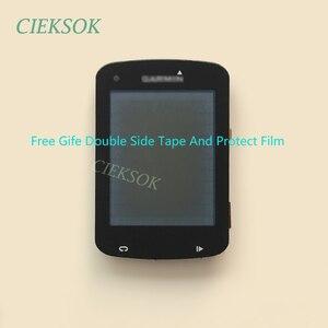 Image 5 - Ekran LCD z dotykowy Digitizer dla Garmin EDGE 820 roweru prędkościomierz nawigacja GPS wymiana części zamiennych