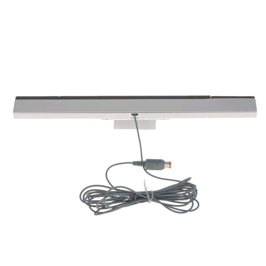 Wired Remote Sensor Bar Infrared Ray Inductor For  WII Console Game