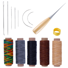 Hot Sale 1 Set Sewing Needle Awl Leather Craft Sewing Access