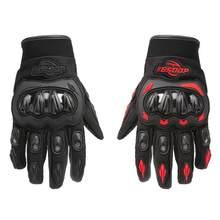 85% vendas quentes!!! Dedo cheio não deslizamento casca dura motocicleta motocross luvas de proteção corrida