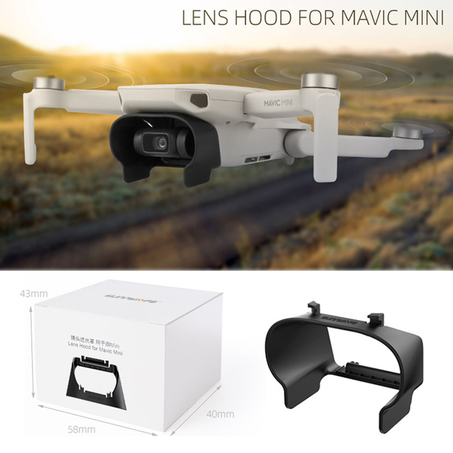 Lens Hood Anti-glare Gimbal Lens Cover Sunshade Protective Cover for DJI Mavic Mini RC Drone Accessories 2