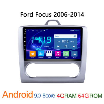 4G+64G IPS android autoradio for Ford Focus 2006-2014 car radio coche audio auto stereo carplay parktronic bluetooth Navi touch image