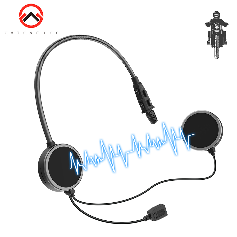 Cascos Inalambricos Bluetooth Casco Moto E300 Intercom For 6 Riders 8H Talking Time BT Wireless Intercomunicador Interphone MP3