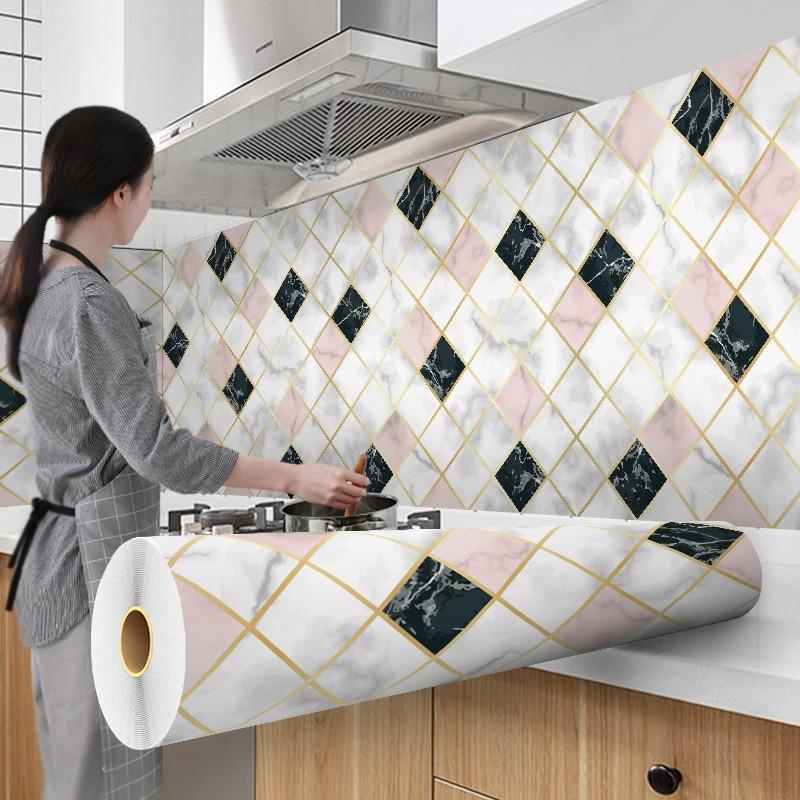 Papel pintado de 300cm, revestimiento de aluminio, impermeable, moderno, para sala de estar, muebles de escritorio, vinilo, autoadhesivo, papel de contacto, decoración del hogar