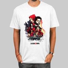 T-shirt homme/femme La Casa De Papel, unisexe, Money Heist