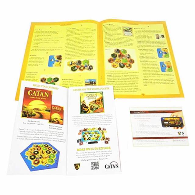 Settlers of Catan Strategy Board Game 5th Edition With Seafarer 5-6 Player Expansion Party Table Game Toy Gift For Children
