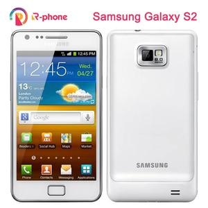 Original Refurbished SAMSUNG Galaxy S2 i9100 Mobile Phone Unlocked 3G Wifi 8MP Android Phone