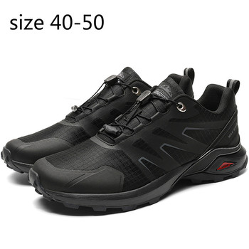 Hiking Shoes Men Outdoor Jogging Mountain WaterprooRunning Sneakers Adult Large Size39-50