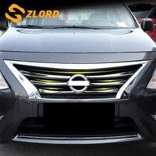 Zlord 6 шт. 3D Тюнинг автомобилей Передняя гоночная решетка радиатора накладка наклейки для Nissan Sunny
