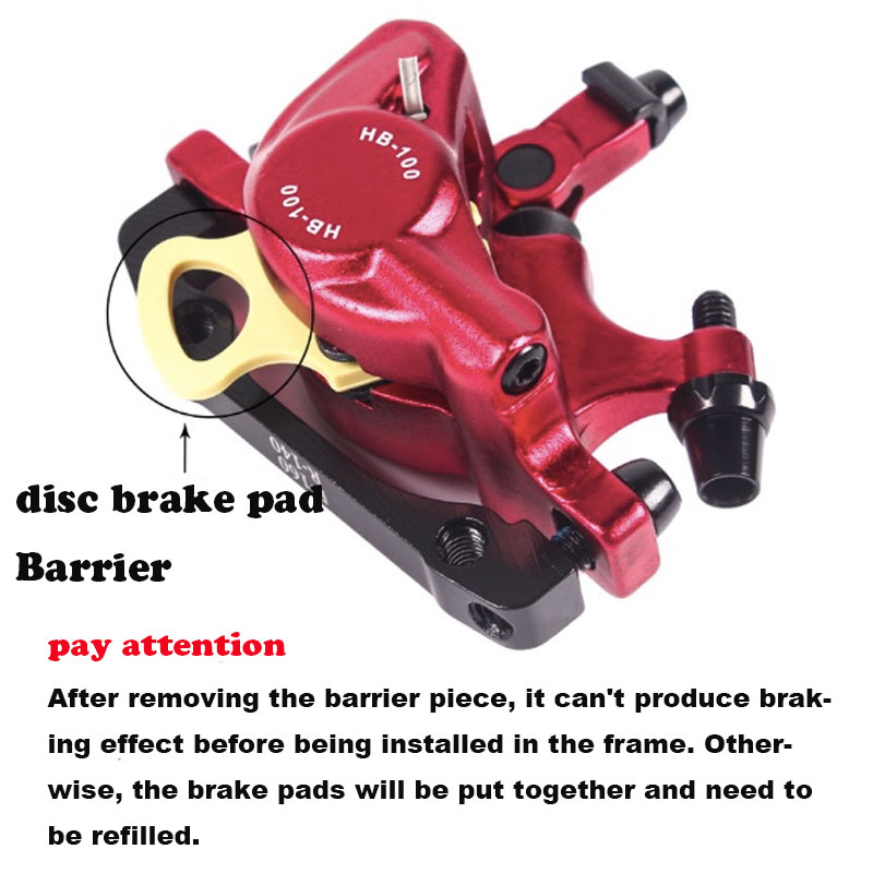 MTB Road HB-100 MTB Road Line Тяговая гидравлическая Дисковая тормозная штангенциркуль передний и задний дисковый тормоз горного велосипеда E-BIKE дисковый тормоз
