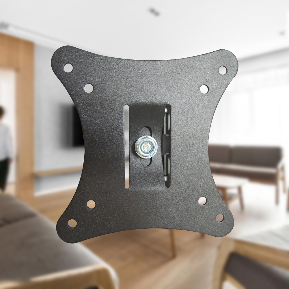 10-26inch Adjustable LCD Lobby Heavy Duty Flat Screen LED Monitor TV Wall Bracket Strong Support Home Universal Swivel Mount KTV