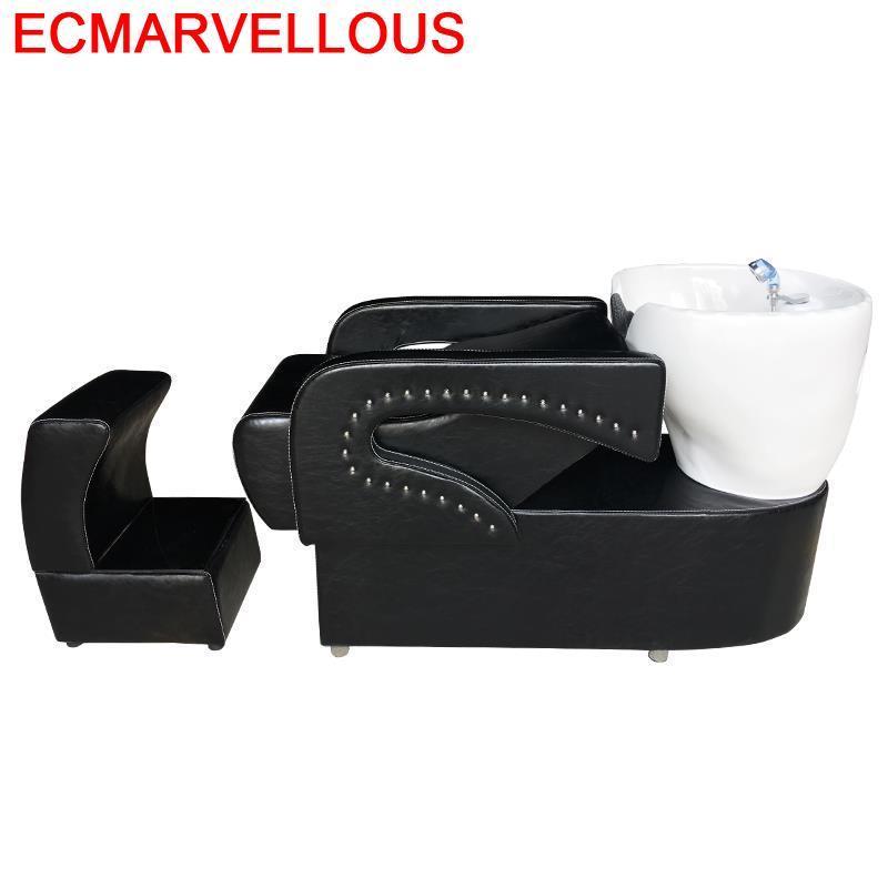 For Barber Shop Bed Beauty Lavacabezas Peluqueria Hairdresser Cabeleireiro Cadeira Maquiagem Hair Salon Furniture Shampoo Chair