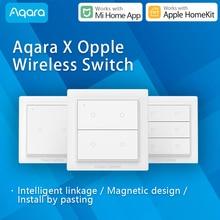 Aqara OPPLE bezprzewodowy przełącznik scen możliwość przyciemniania inteligentny pilot Zigbee3.0 praca z Xiaomi Mi Home App kompatybilny Apple HomeKit