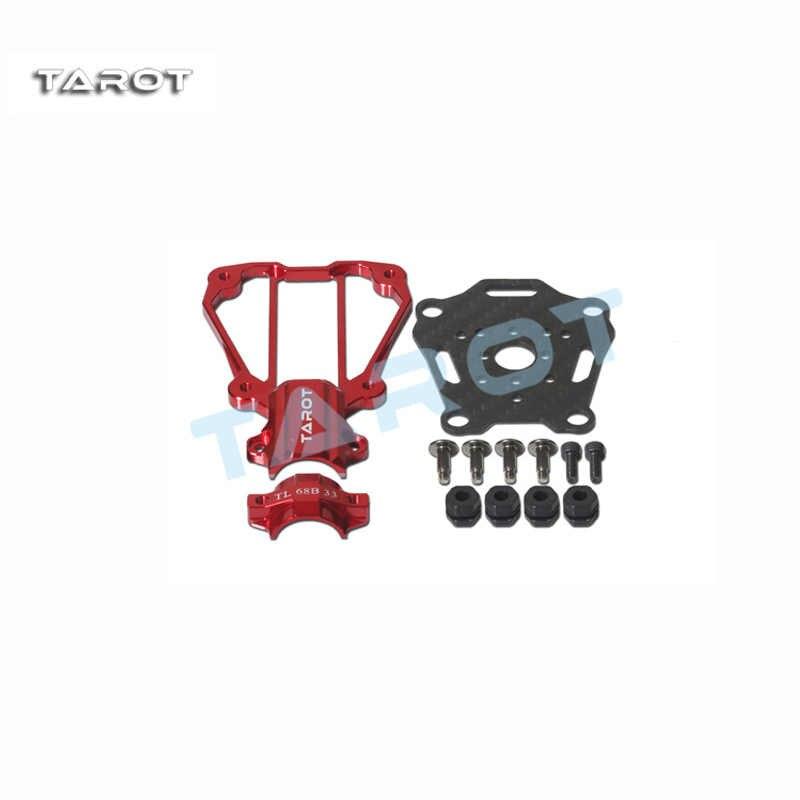 TAROT DIA 16 มม.ระงับ Anti-shock มอเตอร์ที่นั่งสีแดง TL68B33 สีดำ TL68B34 สำหรับ DIY Multicopter FPV RC Drone