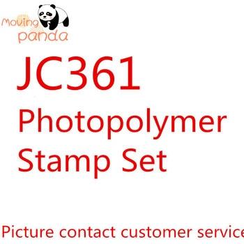 Panda móvil JC361Christmas Gleaming stamps Set troqueles de corte para artesanía plantillas para álbum de recortes