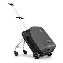 Kids Scooter Suitcase Lazy Carry On Rolling Luggage Ride On Trolley Bag For Baby Stroll Trunk Dawdler Box Child Maleta Valise