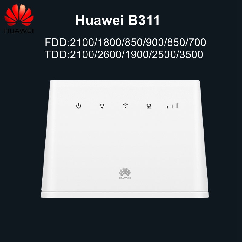 Original Unlocked 3G 4G LTE CPE Router Wireless Mobile WiFi With Antenna Port Huawei B311