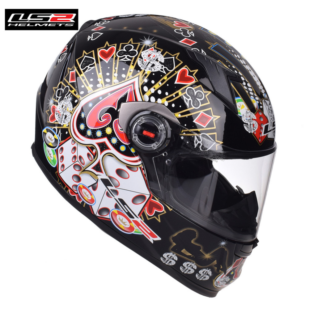 Capacete LS2 Racing Motorcycle Helmet Full Face Casco Casque Moto Helm Helmets Kask Kaski Motocyklowe Crash For Suzuki Motorrad