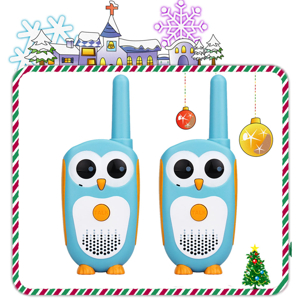 2pcs Retevis RT30 Mini Walkie Talkie Kids Radio Station 0.5W PMR FRS UHF Radio 1 Channel 2 Button Simplest Operate For Kids Toy