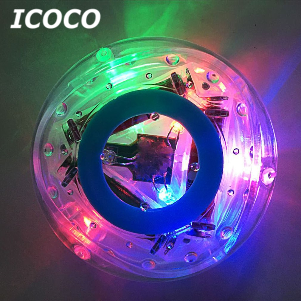 ICOCO Novelty Multicolor Waterproof LED Bath Light Toy With Water-safe LED Light Display For For Kids Children Fun Bath Tub Time