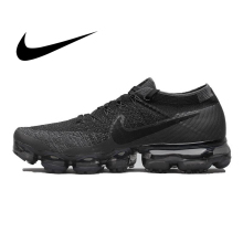 Original Nike Air VaporMax Flyknit Breathable Men's Running Shoes Sport
