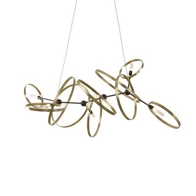 Nordic Design Rose Gold Glass Ball Pendant Light Creative Design Aisle Living Room Bedside Dinner Decro Led Light Fixtures