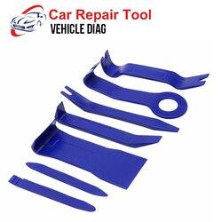 7pcs Plastic Trim Removal Tool Car Radio Panel Door Clip Dashboard Trim Tool Auto Car Removal Tool Herramientas Mecanicas