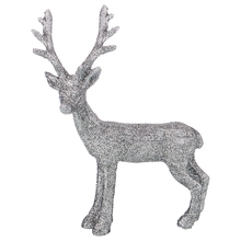 Deer Figurine Color Light Silver 10 6 14 5 cm Without Package