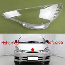 Dla Toyota Previa ACR30 2000 2001 2002 przednie reflektory przezroczysta osłona abażury powłoki maski reflektorów powłoki pokrywa obiektywu tanie tanio gouhuo CN (pochodzenie)