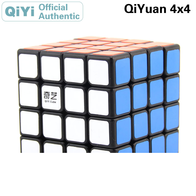 <font><b>QiYi</b></font> <font><b>QiYuan</b></font> <font><b>S</b></font> 4x4x4 Magic Cube MoFangGe <font><b>4x4</b></font> Cubo Magico Professional Neo Speed Cube Puzzle Antistress Toys For Children image