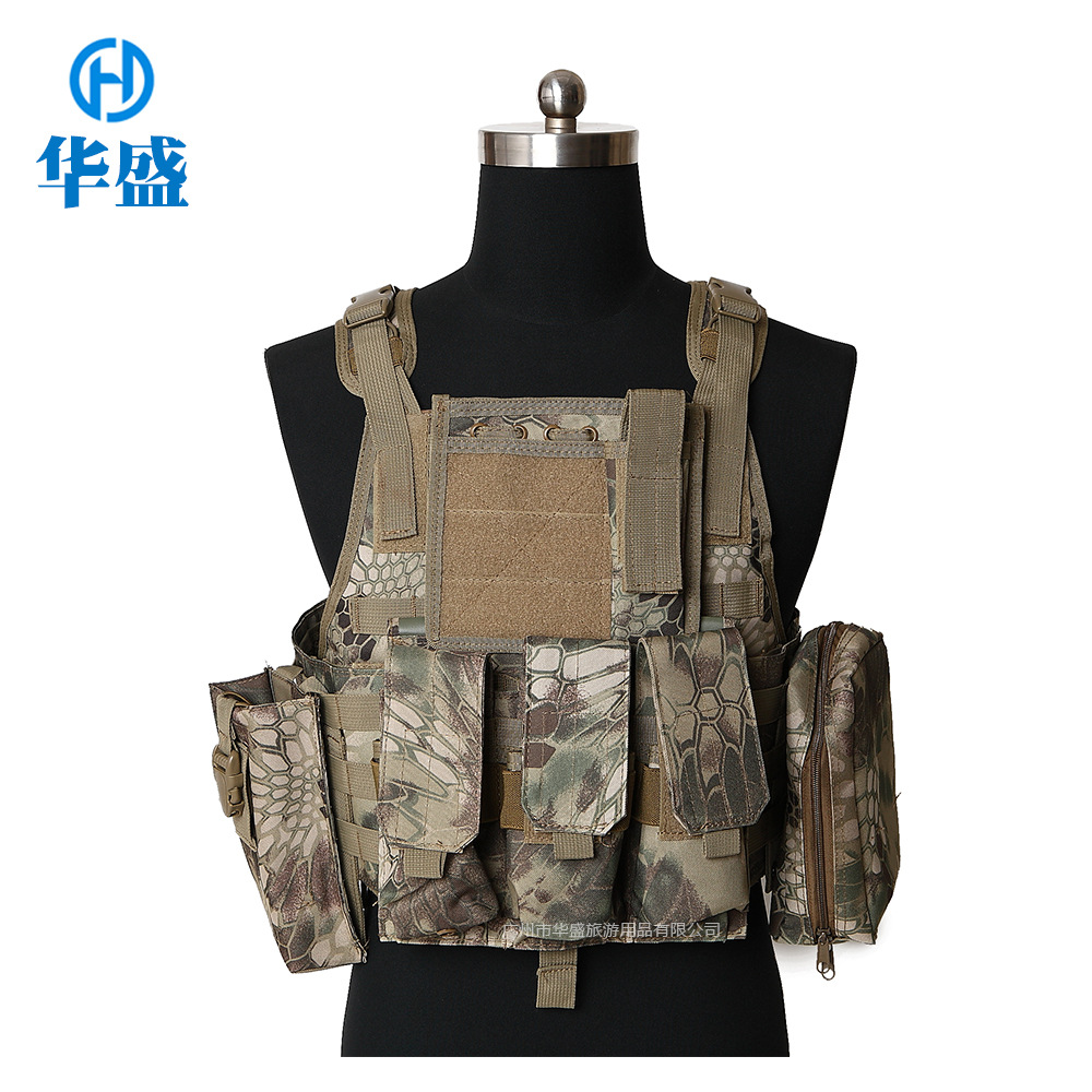 Cross Border For Engraved APC Seals Assault Vest Field Operations Army Fans Outdoor Training Camouflage Tactical Vest