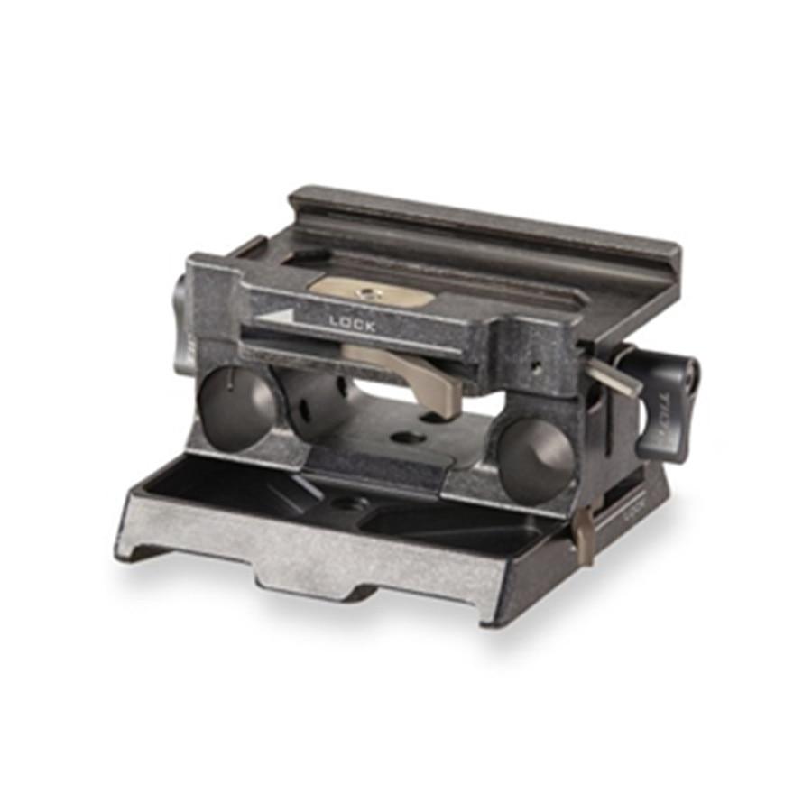 TILTA TA-BSP-15-G 15mm LWS Baseplate For BlackMagic BMPCC4K (TILTA GRAY Or Tactical Finished ) For TILTA Bmpcc4k Cage