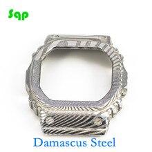 เหล็กดามัสกัส DW5600 GW M5610 จำกัดขายพิเศษสไตล์นาฬิกา BEZEL นาฬิกาอุปกรณ์เสริม