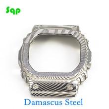 다마스커스 스틸 DW5600 GW M5610 한정 판매 특수 스타일 시계 베젤 시계 액세서리