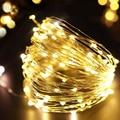 9 Цвет 10 м/10/3 м гирлянды светодиодные светильник Водонепроницаемый Батарея Фея светильник s для рождества, на свадьбу, на праздник, украшения...