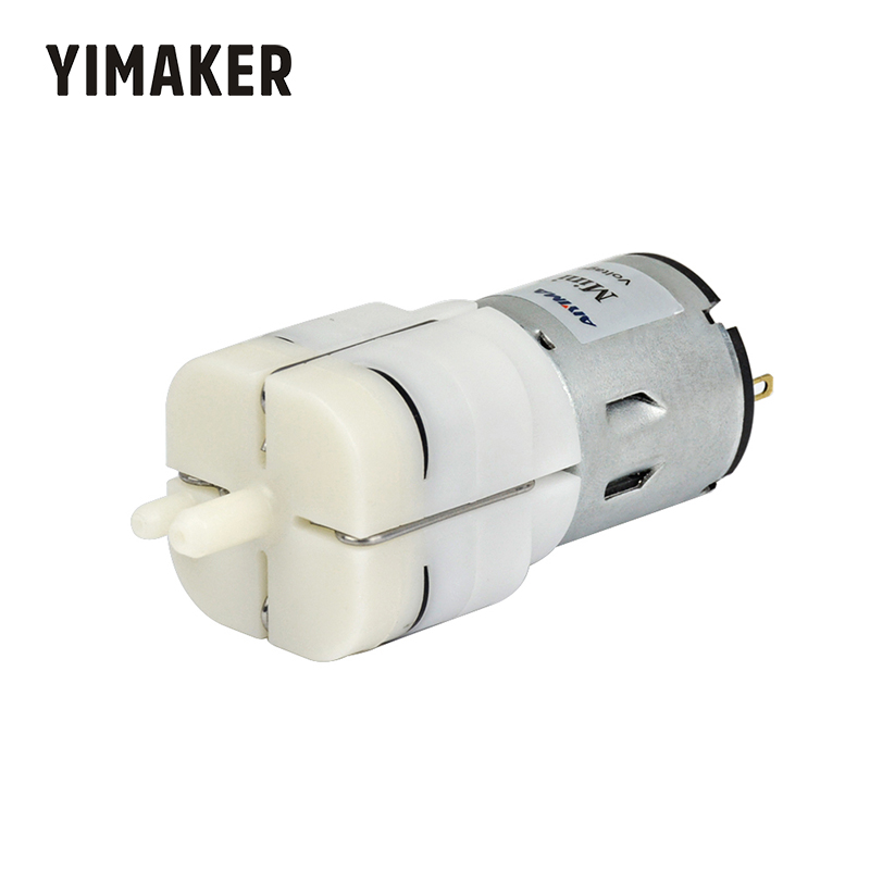 YIMEKER DC 12V Micro Air Pump Vacuum Pump Electric Pumps Mini Pumpping For Medical Treatment Instrument