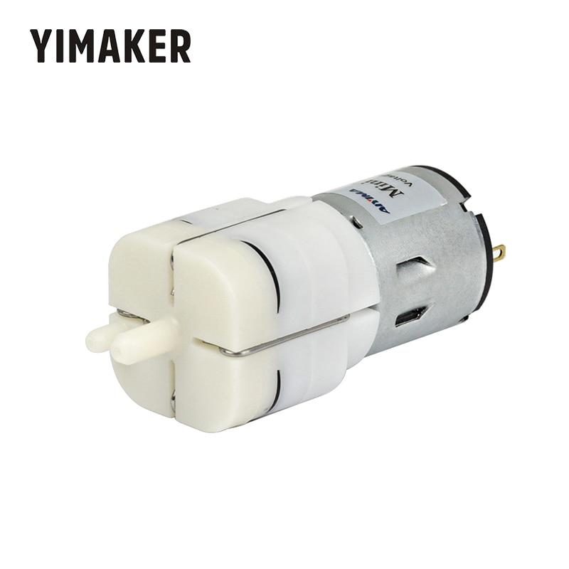 YIMEKER DC 12V Micro Air Pump Vacuum Pump Electric Pumps Mini Pumpping For Medical Treatment Instrument