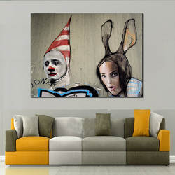 Ebay, Amazon Cross Border Micro Jet Холст Картина ядро напрямую от производителя продажа декоративная картина на холсте новый стиль Foreig