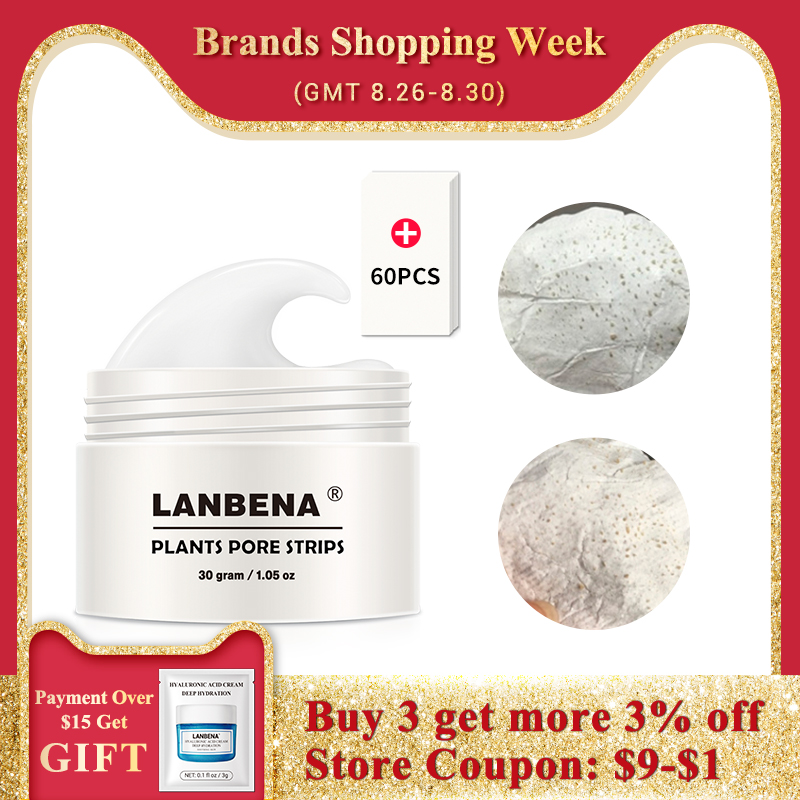 LANBENA Nose-Mask Blackhead-Remover Pore Strip Skin-Care Acne-Treatment Peeling Deep-Cleansing